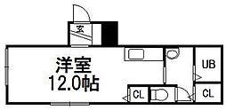A BOND豊平[102号室]の間取り