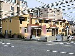 神奈川県平塚市中堂の賃貸アパートの外観