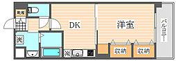 グロースメゾン博多山王[3階]の間取り