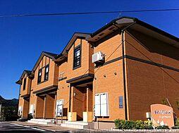 広島県府中市父石町の賃貸アパートの外観