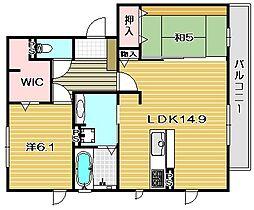 サンファミーユ[3階]の間取り