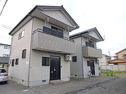 栃木県宇都宮市若草4丁目の賃貸アパートの外観