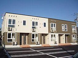 山形県寒河江市西根18の2丁目の賃貸アパートの外観