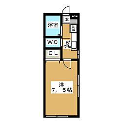 ウインドハウス[1階]の間取り