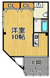 クリーン千島[1階]の間取り