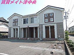三重県津市川添町の賃貸アパートの外観