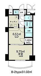 ノルデンタワー新大阪アネックス[23階]の間取り