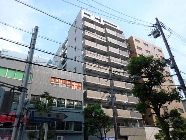 エス・キュート尼崎[10階]の外観