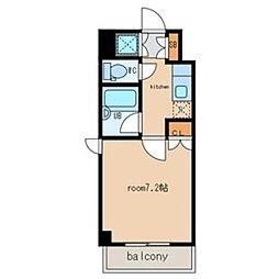 グランヴィラージュ6[1階]の間取り