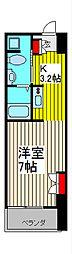 リブシス浦和[4階]の間取り
