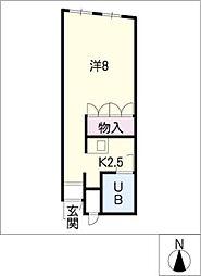 アセラ[4階]の間取り