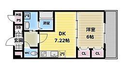 ジャスミンガーデン[2階]の間取り