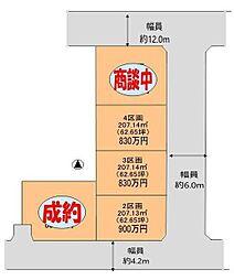 熊谷市樋春 全5区画分譲地2 江南南小学校・江南中学校区域