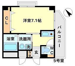 プラスコート豊川駅前[2階]の間取り