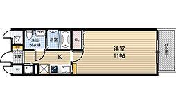 セレブコート梅田[3階]の間取り