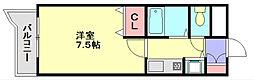 ライオンズマンション南福岡中央[4階]の間取り