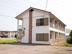 群馬県太田市浜町の賃貸アパートの外観