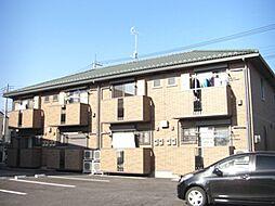 モンテベールII[2階]の外観