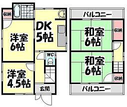 [一戸建] 大阪府和泉市王子町 の賃貸【/】の間取り