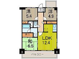フォルテ住宅館[3階]の間取り