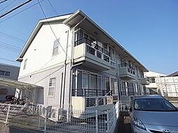 兵庫県明石市旭が丘の賃貸アパートの外観
