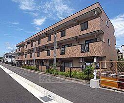 京都府長岡京市西の京の賃貸マンションの外観