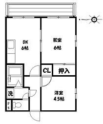 新栄ビル[302号室]の間取り