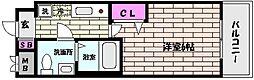 アクロス神戸住吉ステーションフロント[5階]の間取り
