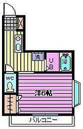 グランデュールメルヘン[3階]の間取り