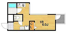 ラインハイツセト[7階]の間取り
