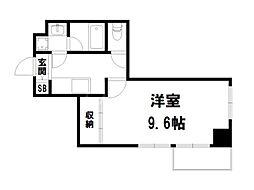 プラネシア星の子京都御所[2階]の間取り