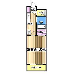 サン・オカベ8[3階]の間取り