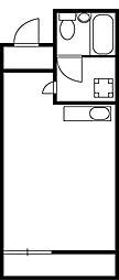 小野木ビル[4階]の間取り