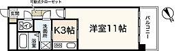 ルネスEスペース[6階]の間取り