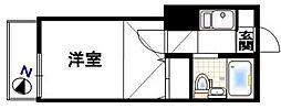 エクセレントF-2[1階]の間取り