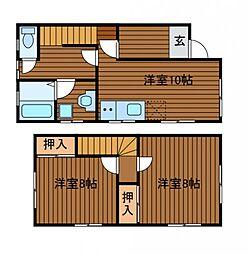 [タウンハウス] 神奈川県相模原市南区相模台2丁目 の賃貸【/】の間取り