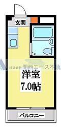 小阪CTハウス[4階]の間取り