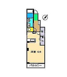 ブラウェ フェーゲル[1階]の間取り