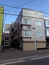 北海道札幌市白石区栄通2丁目の賃貸アパートの外観