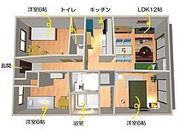 ブレインマンション[106号室]の間取り
