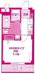 b'CASA Miyamaedaira[4階]の間取り