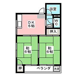 末廣ビル[2階]の間取り