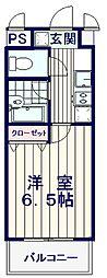 モンヴィラージュ中野新橋[3階]の間取り