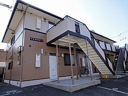 大阪府羽曳野市誉田2丁目の賃貸アパートの外観