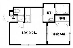 MIU CO BLD 03[305号室]の間取り
