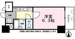 LYNX南台III[2階]の間取り