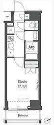 アパートメンツ中野新橋[9階]の間取り