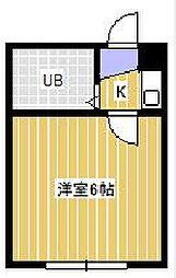 ジュネパレス松戸第133[1階]の間取り