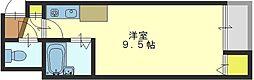 CTビュー小阪[3階]の間取り