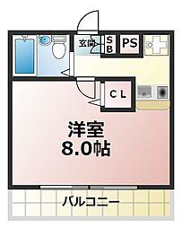イアラマンション[2階]の間取り